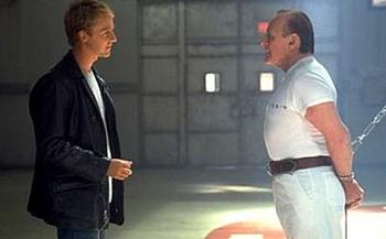"""""""Czerwony smok"""" - pierwsze ogniwo trylogii o Hannibalu Lecterze."""